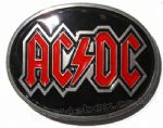 AC/DC Belt Buckle + display stand. Product Code: AV5
